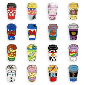 Disney Coffee Cups Mystery Pin Blind Pack