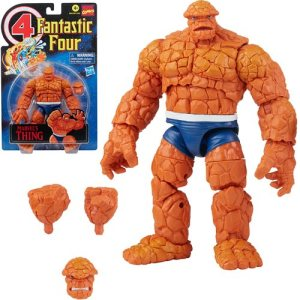 Fantastic Four Retro Marvel Legends Thing 6-Inch Action Figure