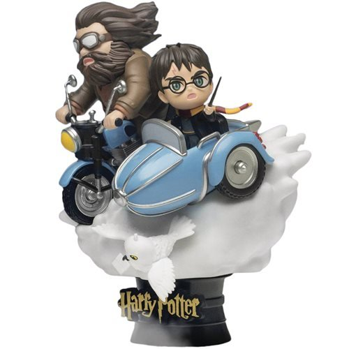 Harry Potter Hagrid and Harry DS-098 D-Stage 6-Inch Statue