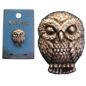 Harry Potter Hedwig Pewter Lapel Pin