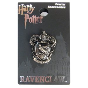 Harry Potter Ravenclaw Crest Pewter Lapel Pin