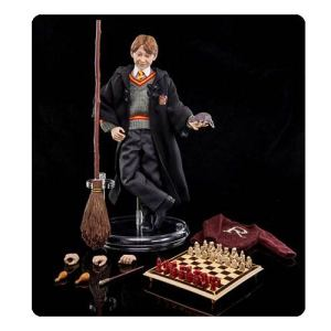 Harry Potter and the Sorcerers Stone Ron Weasley 1:6 Scale Action Figure