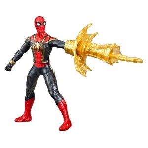Spider-Man: No Way Home 6-Inch Deluxe Web Spin Spider-Man Action Figure