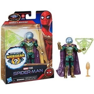 Spider-Man: No Way Home 6-Inch Mystery Web Gear Mysterio Action Figure