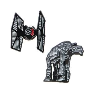 Star Wars At-At and Tie Fighter Lapel Pin Set