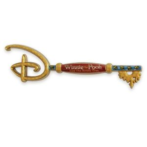 Winnie the Pooh and the Honey Tree 55th Anniversary Collectible Key Pin Special Edition Official shopDisney