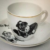 Bulldog club cup set