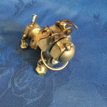 Bulldog made from nuts n bolts