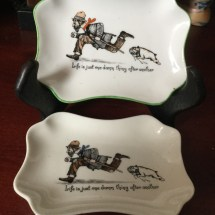 Comical pin dishes
