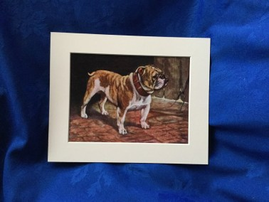 Beautiful Bulldog Painting