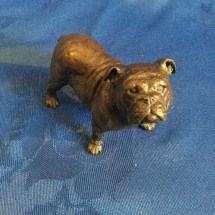 Micheal simpson bronze bulldog