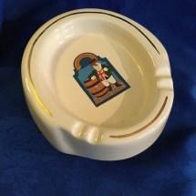 Vintage bulldog ashtray