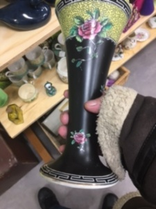 Vase in the shop