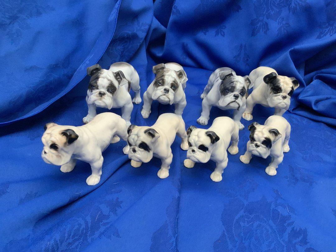 Bulldog figurines by European artists !