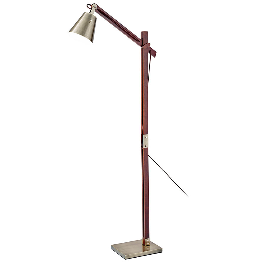 Carver Contemporary Floor Lamp Collectic Home