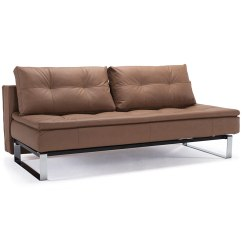 Sleeper Sofa No Arms Paletten Selber Machen Anleitung Innovation Dual Armless Brown Collectic Home