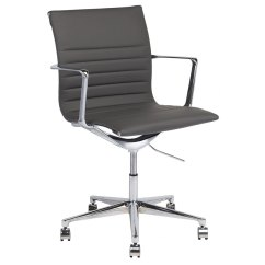Counter Height Chairs With Back Ergonomic Near Me Antonio Contemporary Office Chair | Collectic Home