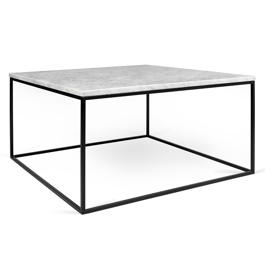 Modern White Lacquered Dining Table Storage