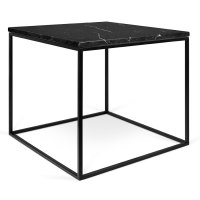 Gleam Black Marble Modern Side Table by TemaHome   Eurway