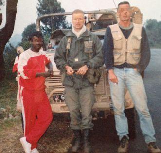 Guillaume ANCEL, officier de l'opération Turquoise en 1994