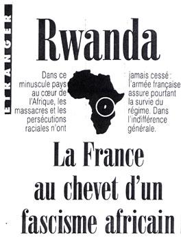La France au chevet d'un fascisme africain