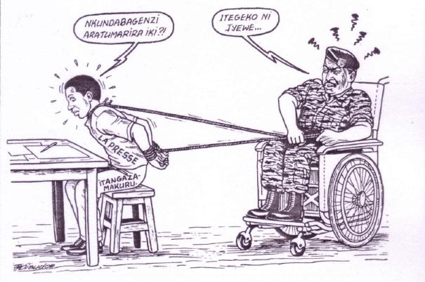 La presse d'opposition, tenue en laisse par la capitaine SIMBIKANGWA – RwandaRushya n°16 – janvier 1992