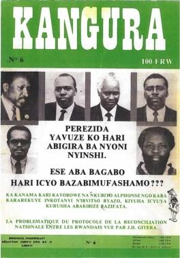 Journal extrémiste Kangura n°6 (décembre 90)