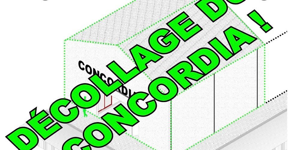 SAGA CONCORDIA DECOLLAGE
