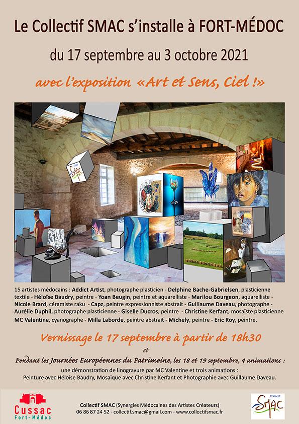 Exposition à Fort Médoc
