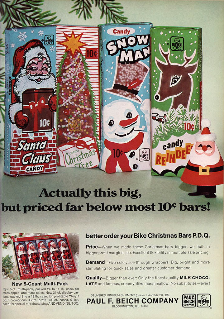 Christmas Countdown Beichs Classic Santa Claus Candy And