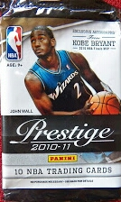 prestige retail pack card collecting