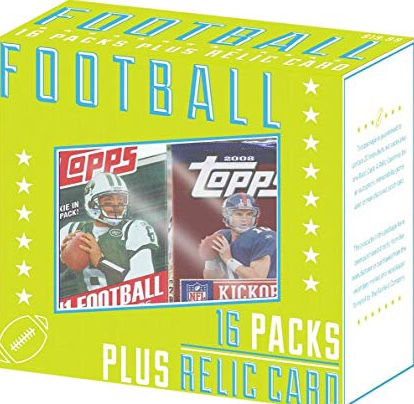 retail re-pack box card collecting