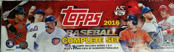 baseball complete set card collecting