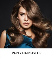 christmas party hairstyles top
