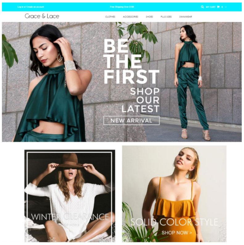 shopify web designers portfolio