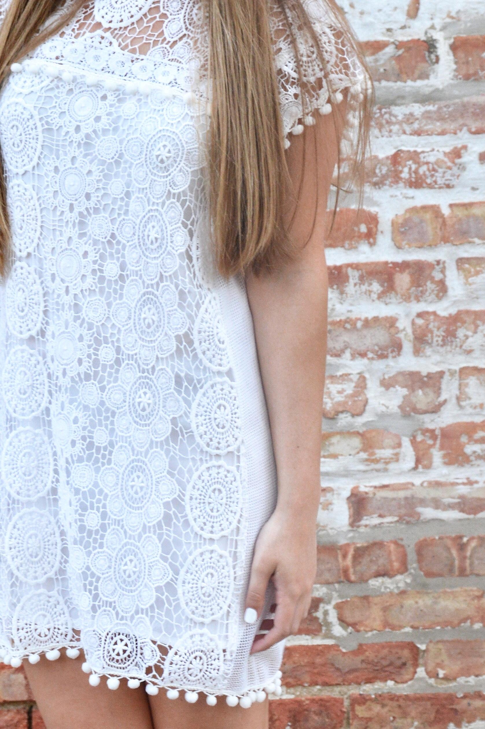 Little White Graduation Dress