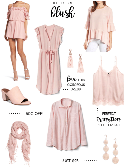 Light Pink Clothing and Accessories