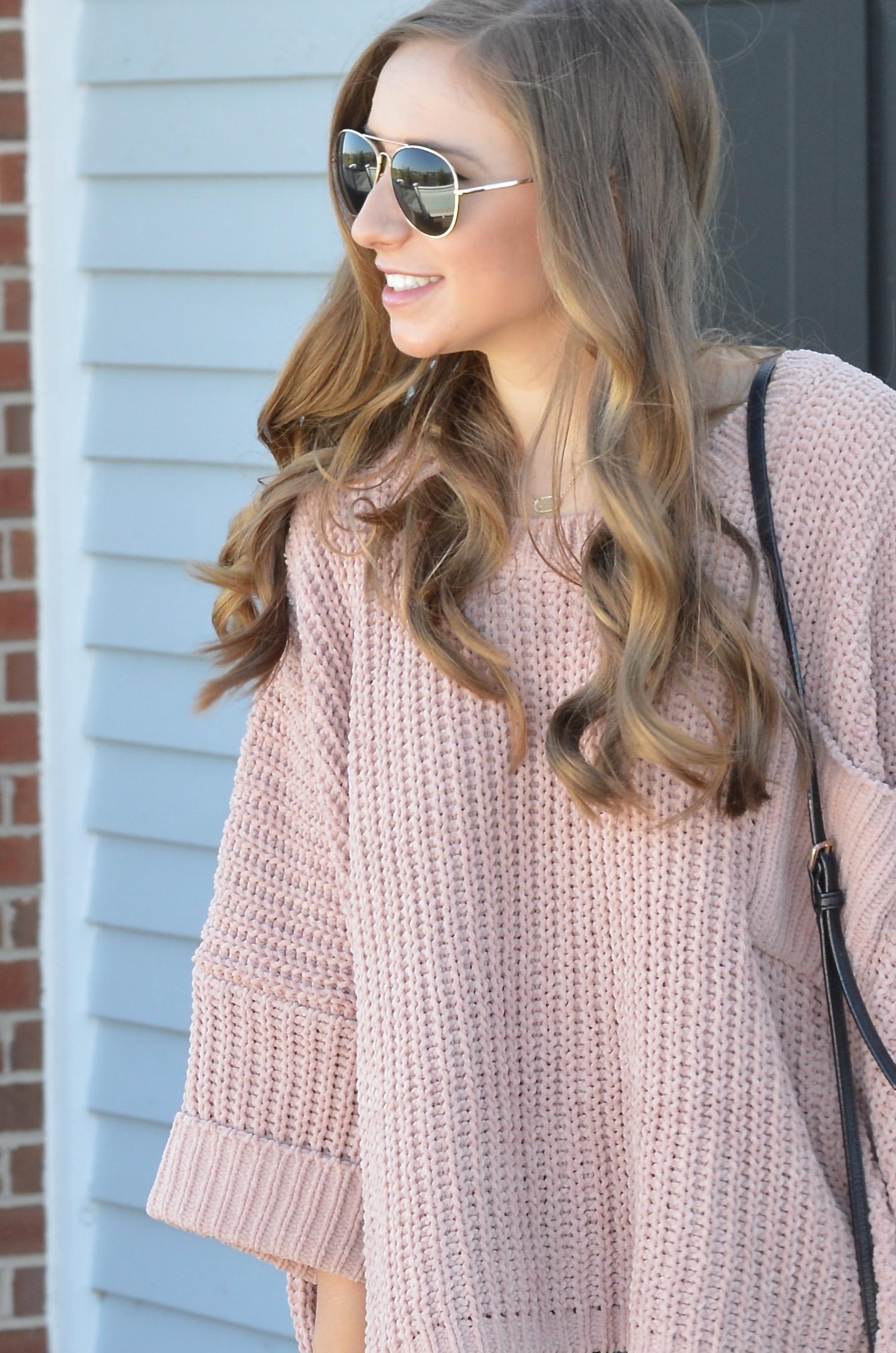 Blush Cozy Sweater