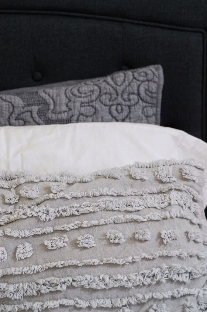 Grey Pillowcases