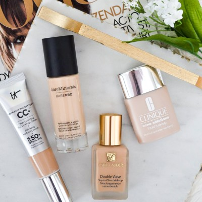 Best Liquid Foundations for Any Skin Type