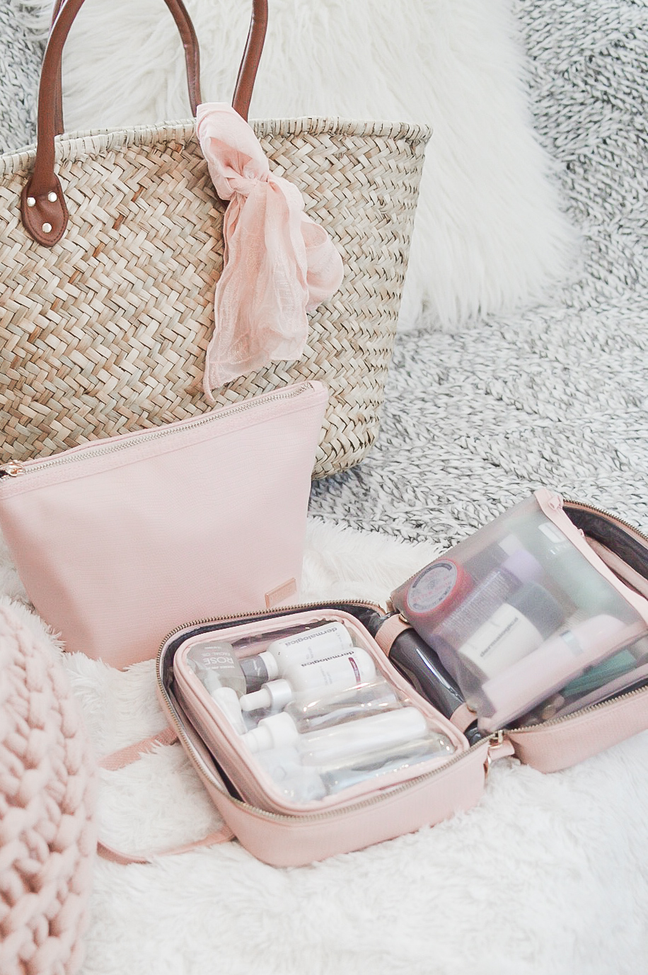Traveling with Stephanie Johnson Cosmetic Bags