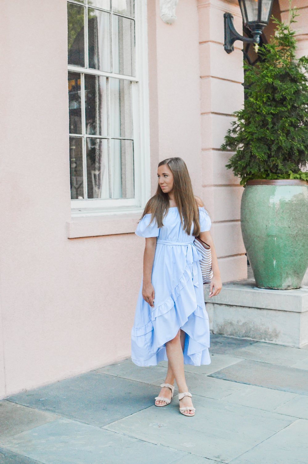 Summer Ruffled Midi Dress | Summer Styles
