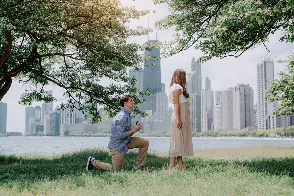 Surprise Proposal Story | Proposal Photography | Chicago Proposal