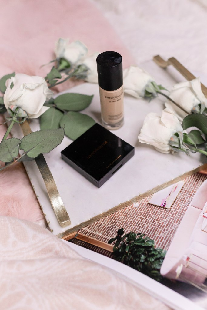 Best Natural Makeup: BareMineral BarePro Liquid Foundation and Invisible Bronzer