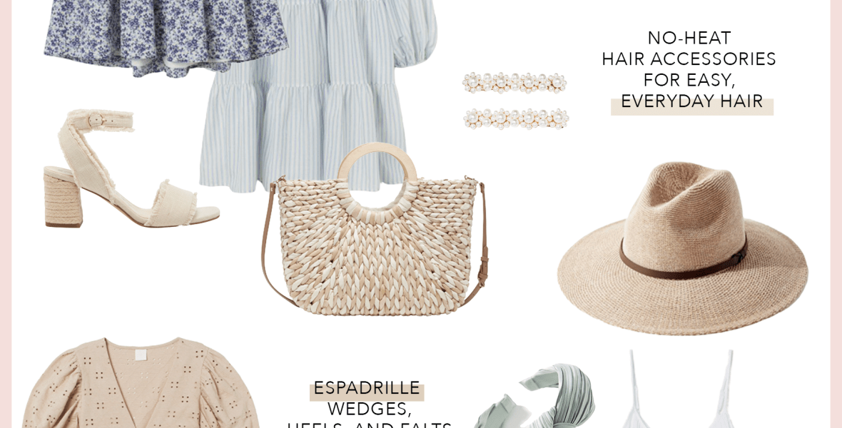 Summer Lookbook: Espadrilles, Flowy Dresses, Hair Accessories + More