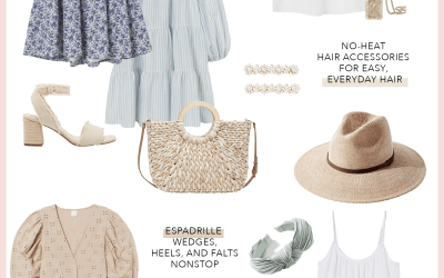 Summer Lookbook: Espadrilles, Flowy Dresses, Hair Accessories and More