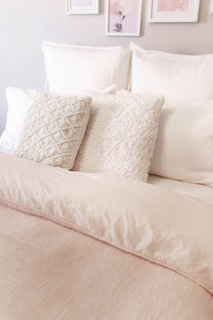 Blush Cozy Bedding