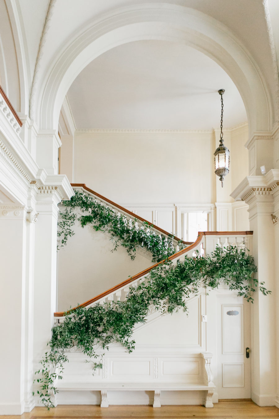 Beautiful Estate Wedding Venue with a Gorgeous Stairwell