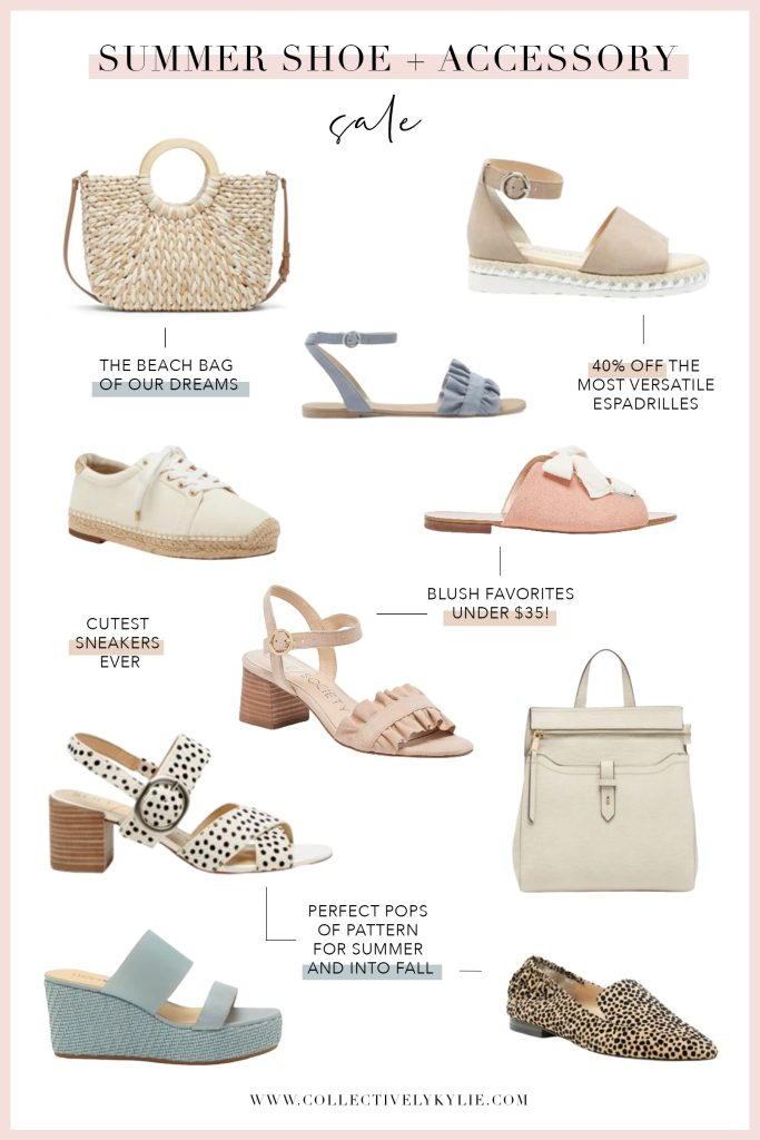 Sole Society Summer Shoe Sale and Summer Tote Sale