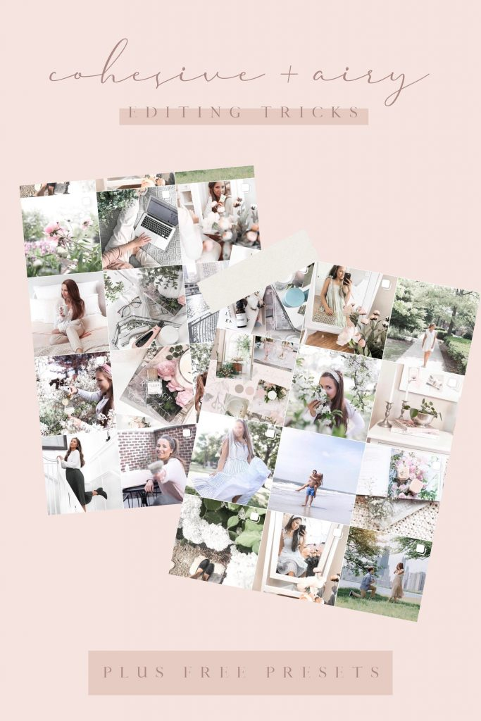 Cohesive Bright and Airy Editing Tricks and Free Pastel Presets